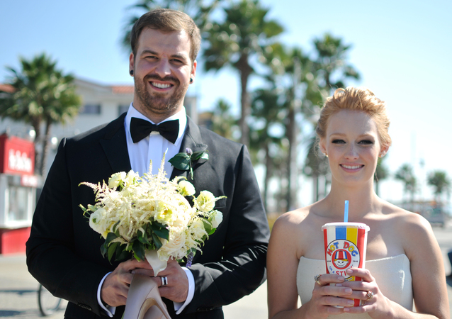 LA Wedding Planner Wayne Gurnick: wedding design and coordination for destination wedding at Shutters on the Beach, Santa Monica California