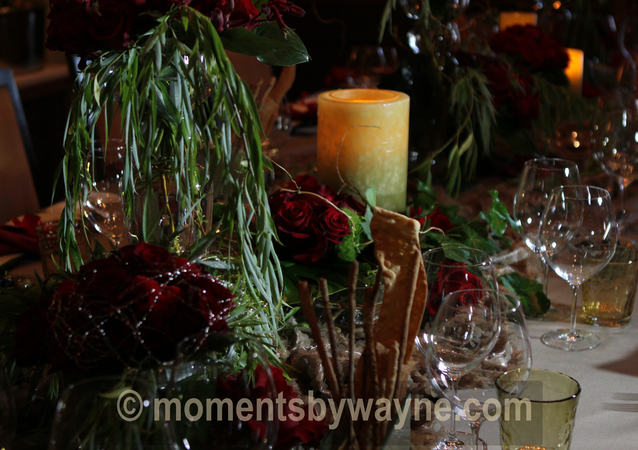 LA Wedding Planner Wayne Gurnick: birthday celebration design, planning and coordination at Four Seasons Hotel at Beverly Hills, A Celebration In Red theme