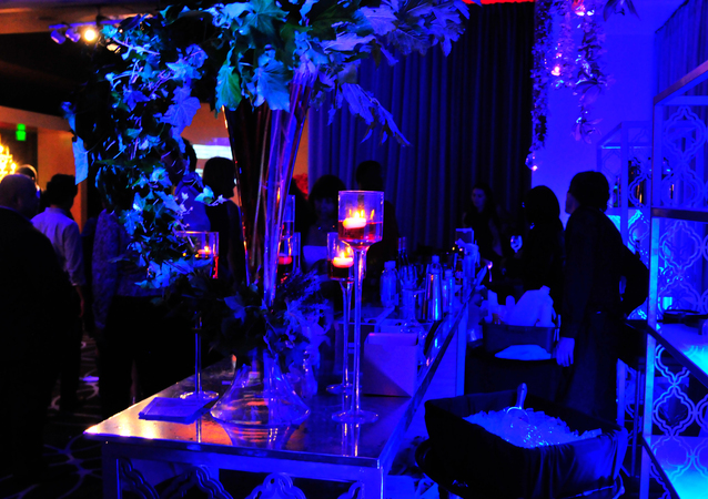 LA Wedding Planner Wayne Gurnick: event design at Get Fresh: What's New/Next at W Hollywood Hotel