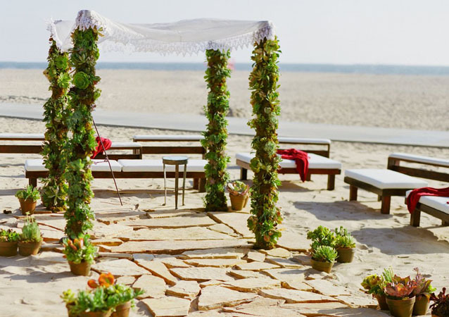 LA Wedding Planner Wayne Gurnick: full service wedding design, planning and coordination at Hotel Casa Del Mar in Santa Monica