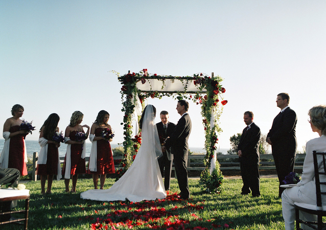 LA Wedding Planner Wayne Gurnick: full service wedding design, planning and coordination at Bacara Resort, Santa Barbara