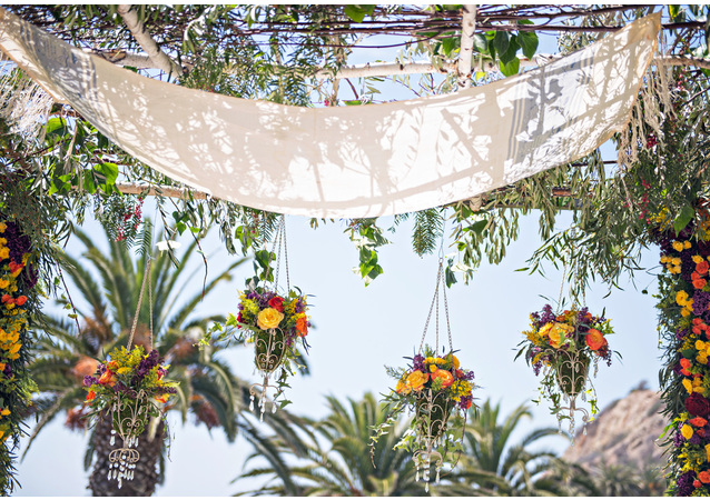 "LA Wedding Planner Wayne Gurnick: full service wedding design, planning and coordination for a ""magic carpet"" wedding at Bel Air Bay Club in Pacific Palisades, CA"